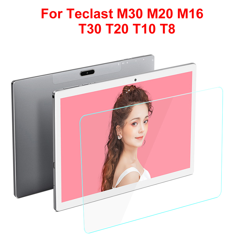 Tempered Glass For Teclast M30 M20 M16 Tablet Screen Protector For Teclast T30 T20 T10 T8 Glass Protective Film