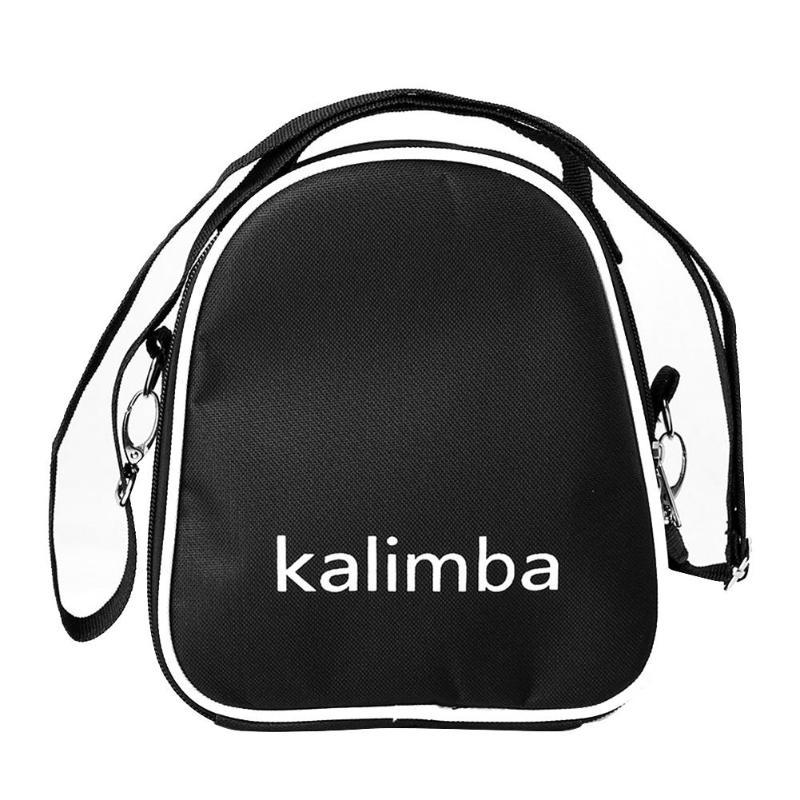 Universal Storage Shoulder Portable Oxford Cloth Bag Thumb Piano Kalimba Mbira Case For 17/15/10 Key