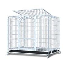 Dog Cage Large Medium Indoor with Toilet Golden Hair Labrado