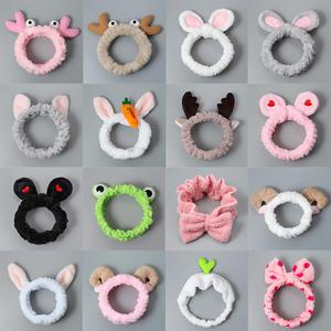 Headdress Makeup-Mask Hair-Accessories Hair-Band Elastic Rabbit Ears Small Cartoon Animal
