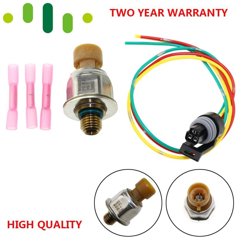 Pressure Feedback Sensor W// Connector Fits Ford  SUPER DUTY F250 F350 F450 F550