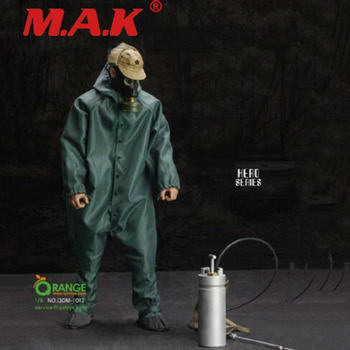 QORANGE QOTOYS QOM-1012 1/6 Scale Male Solider Chernobyl Scavenger RESCUER Uniform Set for 12''Action Figure Body In Stock for collection solider action figure full set 1 6 78047b russian spetsnaz fsb alpha group male figure standard ver