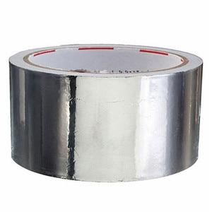 5cm*17m Useful Aluminium Foil Adhesive Sealing Tape Thermal Resist Duct Repairs High Temperature Resistant Foil Adhesive Tape