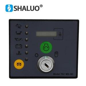 Ручной Блок управления генератором запуска MS702, модуль пуска ключей, детали генератора, дизельный генератор, электронная плата контроллера