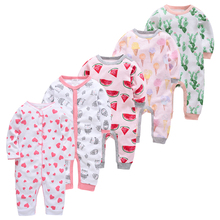 5pcs Baby Pyjamas Girl Boy Pijamas bebe fille Cotton Breathable Soft ropa bebe Newborn Sleepers Baby Pjiamas