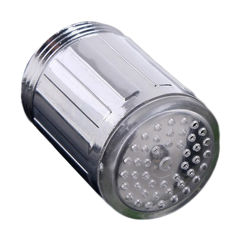 SDF-A6 Led Faucet Temperature Control Tricolor Colorful Illuminated Faucet Monochrome Water Flow Power Faucet Lamp