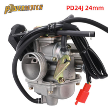 Motorcycle Carburetor GY6 125cc 150cc Carb For BAJA Scooter ATV Go Kart Scooter Moped 125cc PD24J Carburateur Moto parts goofit piston ring set for gy6 80cc atv go kart moped
