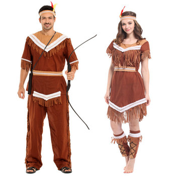 Umorden Halloween Costumes Women Indian Princess Pocahontas Huntress Costume Purim Party Mardi Gras Fancy Dress W-0211 virginia watson princess pocahontas