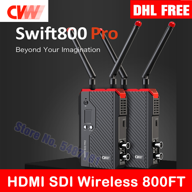 Transmitter-Receiver Video-Transmission Mars 300 CVW 800pro Hollyland 400s SWIFT Wireless
