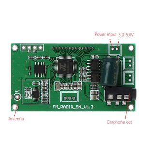Image 5 - Цифровой беспроводной микрофон, стерео аудио FM приемник, DSP & PLL, 87 108 МГц