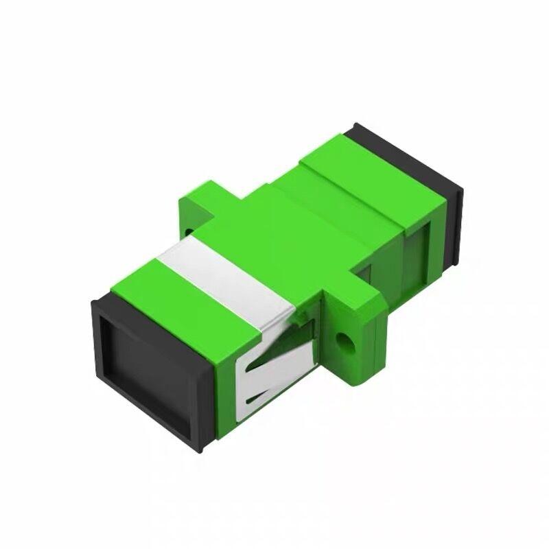 SC/APC Fiber Optical Coupler Flange Single Mode Adapter Quick Connector
