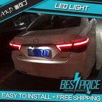 Car Tail Lamp for Toyota Reiz Tail Lights 2010 2012 Mark X Dynamic turn signal LED Tail Light Rear Lamp Back light For Mark X