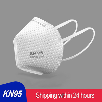 KN95 Mask Face Mouth 95% Meltblown cloth filter Anti PM2.5 Particulate Pollution Protective Respirator Muffle Cover