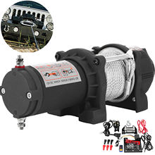 1360KG Remote Control Winch Electric Recovery Winch Kit ATV  For Trailer Truck Car DC 12V