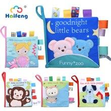 Baby Spielzeug Handy Um Bett Tuch Buch Tier Frühen Lernen Bildungs Intelligenz Entwicklung Weiche Nette Für 0-12 Monate