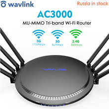 Tri-Band Extender Wifi-Router AC3000 Signal-Boosters Gigabit Online-Working Wireless-Roteador