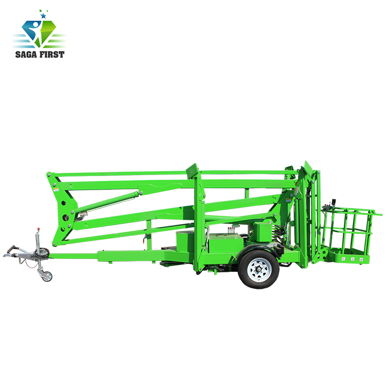 Qingdao Sinofirst Electric Hydraulic Spider Lift Work Platform