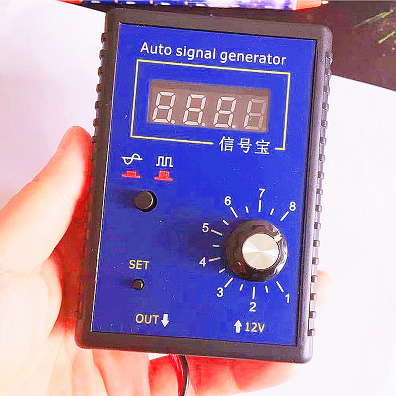 Automobile Auto Vehicle Signal Simulator Generator Car Hall Sensor Crankshaft Position Sensor Signal Tester Meter 2Hz To 8KHz