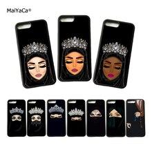 MaiYaCa мусульманская Девушка Мягкий силиконовый чехол для телефона s для iphone 11 pro max 5S se 6 6s plus 7 7plus 8 8plus XS чехол для max XR