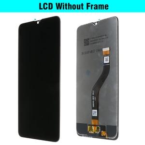 "Image 4 - 6.5 ""% 100% orijinal SAMSUNG Galaxy A20s LCD dokunmatik ekran digitizer çerçeve değiştirme ile modülü SM A207F SM A207G"