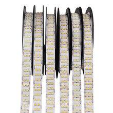 240LED/M Led Strip Licht Tape 5M Dubbele Rij 2835 12V 24V Dc Waterdicht Flex Led lightging Koud Wit/Natuurlijke Wit/Warm Wit