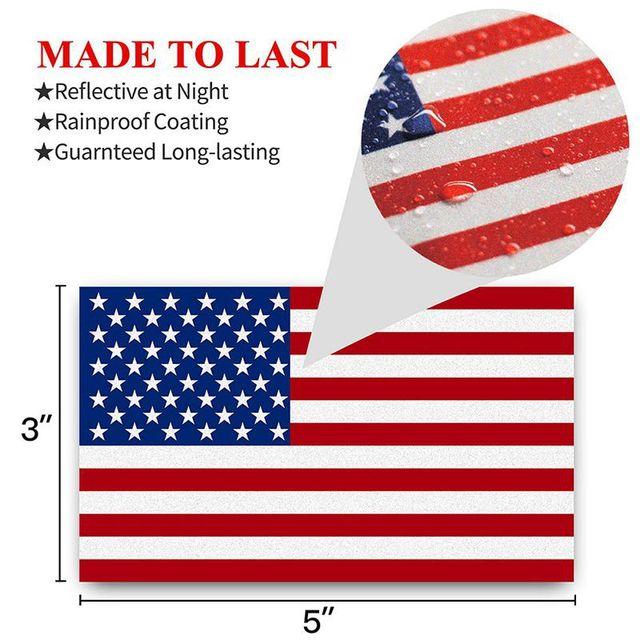 US American Flag - Sticker 3