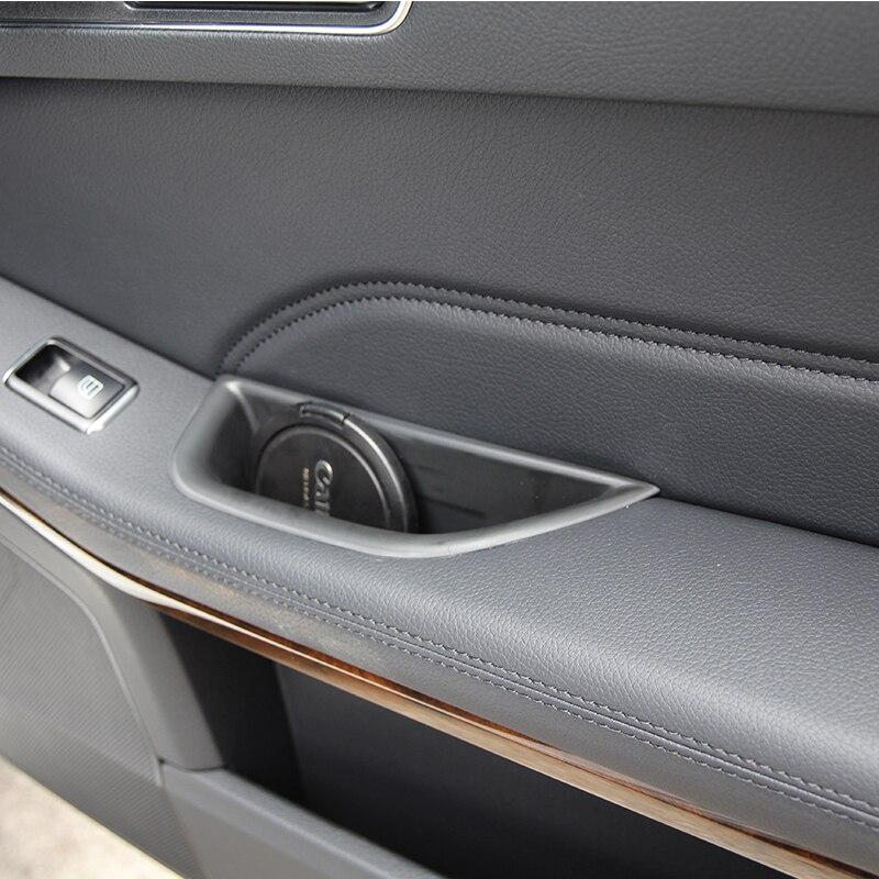 Caja de almacenamiento para reposabrazos de puerta delantera para CLA Class W117 C117 GLA Class X156 A Class A180 W176