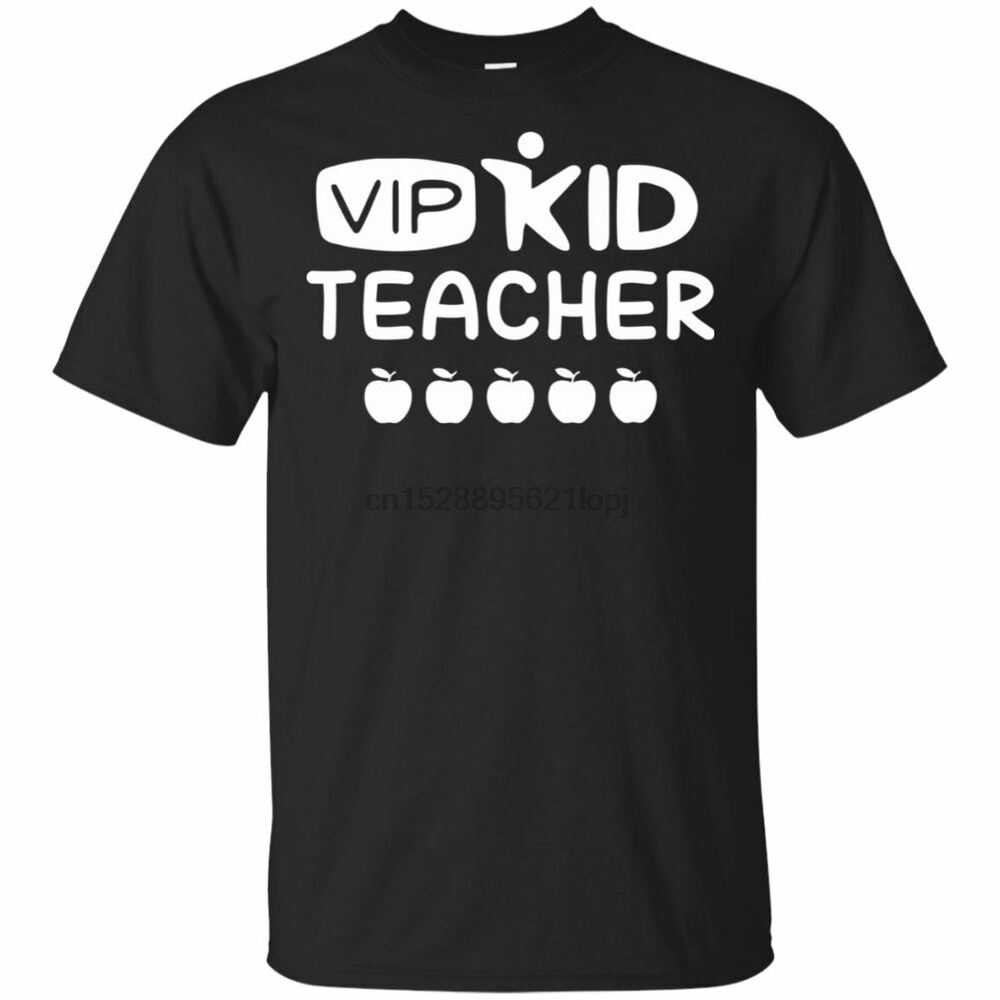 Camiseta negra de vipchild Teacher S-5xl