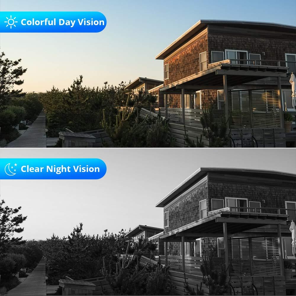 1080P Waterproof Wireless Wifi IP Camera with 3.6 mm Lens 10
