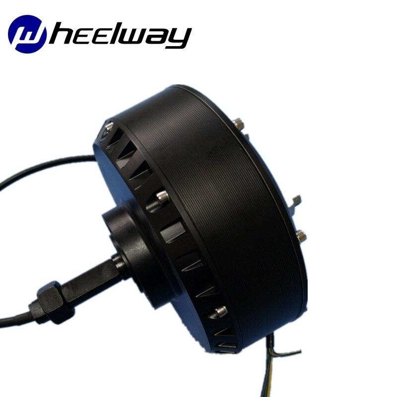 Motor de cubo de eje Unilateral de alta potencia, Motor de carrito de Golf de alta velocidad, 24V/36V/48V/60V/500W/800W/1000W/1500W/2000W, CC, sin escobillas