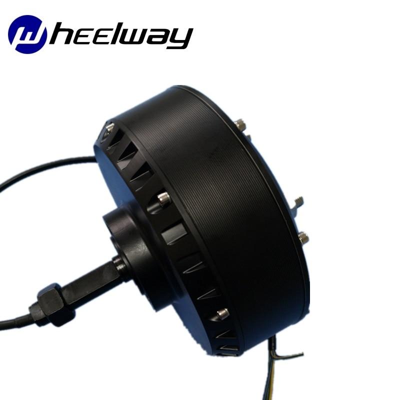 24V/36V/48V/60V / 500W/800W/1000W/1500W/2000W Brushless DC High Power Unilateral Shaft Hub Motor High Speed Golf Cart Motor