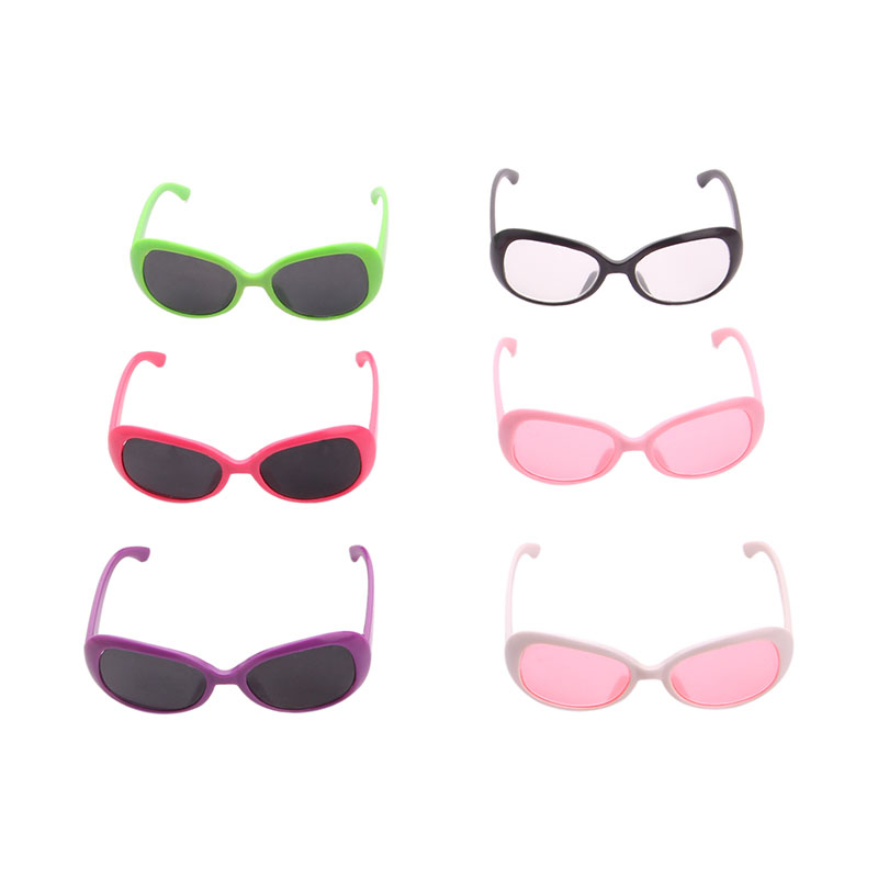 Polished Shade Handsome  Sunglasses  Suitable  18 Inch America And 43 Cm Rebirth Doll DIY American Girl Toy Photo Props