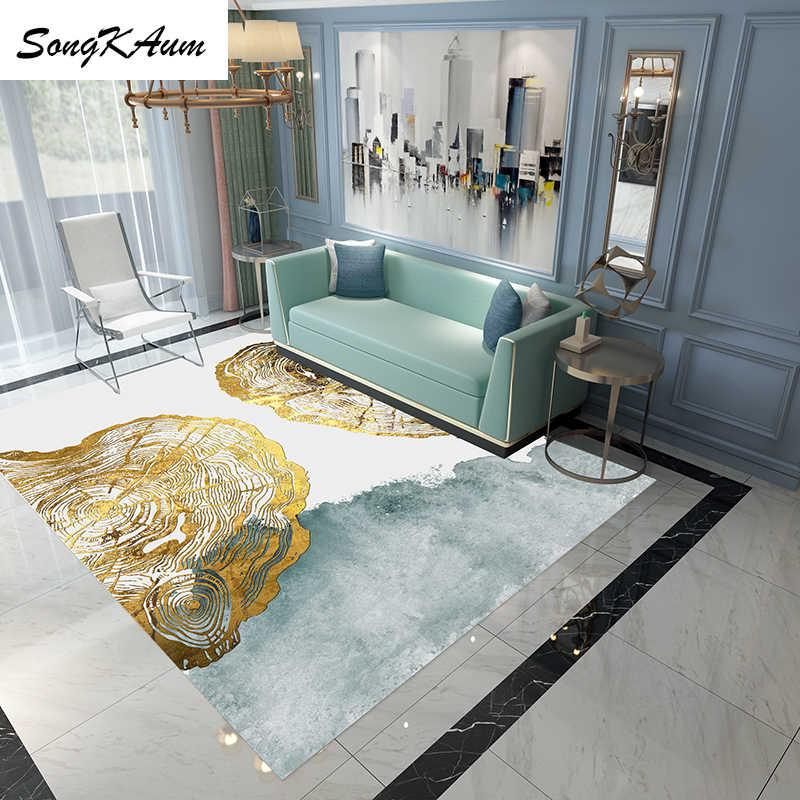 SongKAum 3D современный дизайн, фланелевые большие ковры, детские Нескользящие татами, Настраиваемые коврики, домашний ковер для спальни