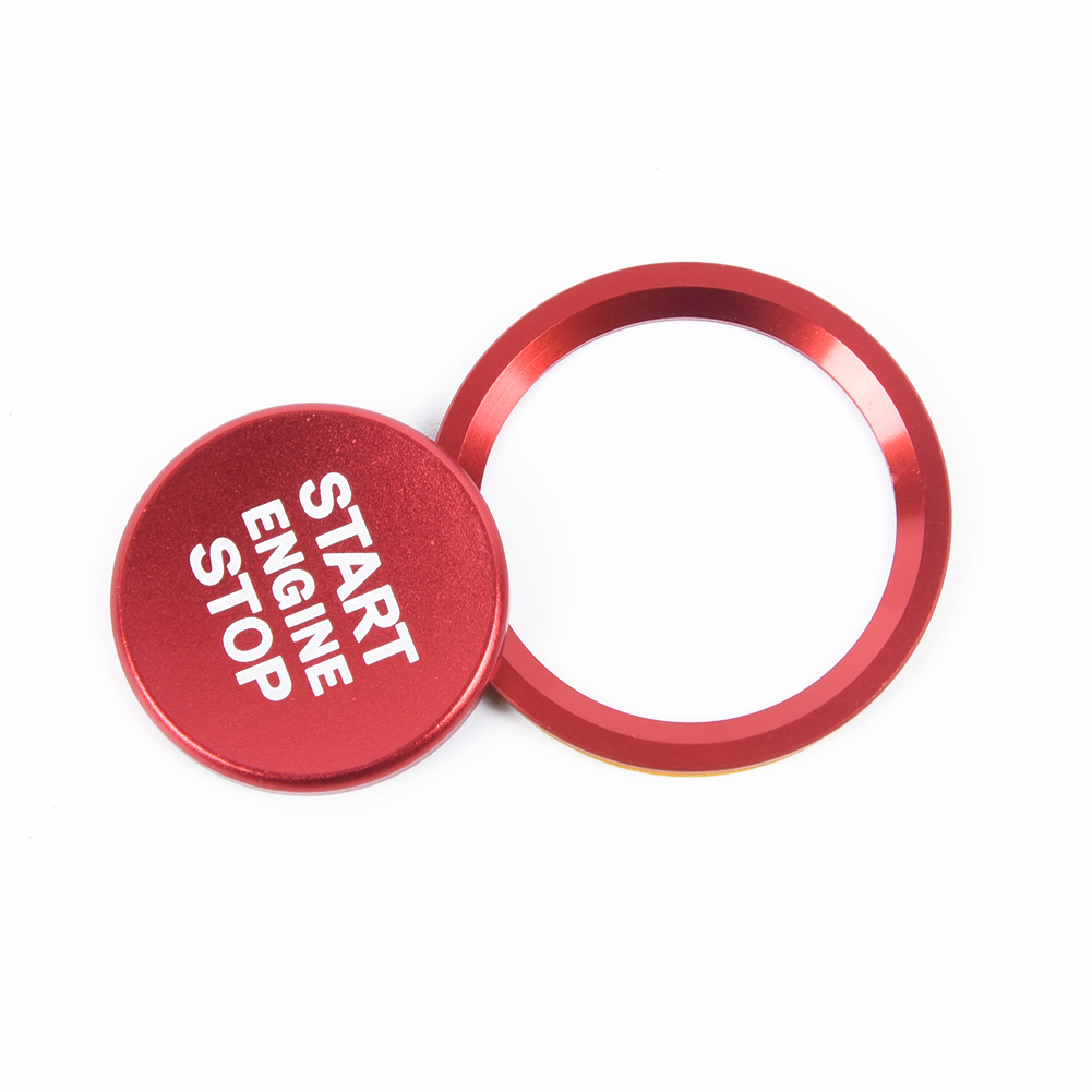 1X New For Audi A4 A6 Q5 A7 Car Start Stop Engine Switch Red Push Button