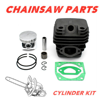 Replacement 58cc Cylinder Piston Kit For Gasoline Chainsaw 5800 ef6600 mz360 cylinder head gasoline generator parts replacement