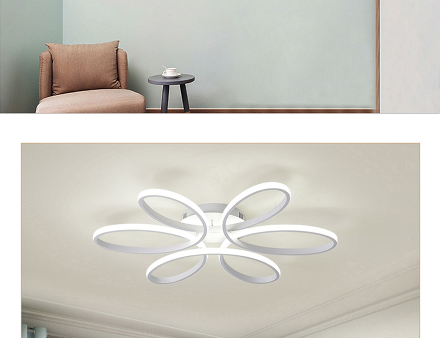 H21cb9708868441aba33fb35749f7befcc Modern LED Ceiling Lights Remote control for Living room Bedroom 78W 72W 90W 120W Aluminum boby indoor plafond Lamp flush mount