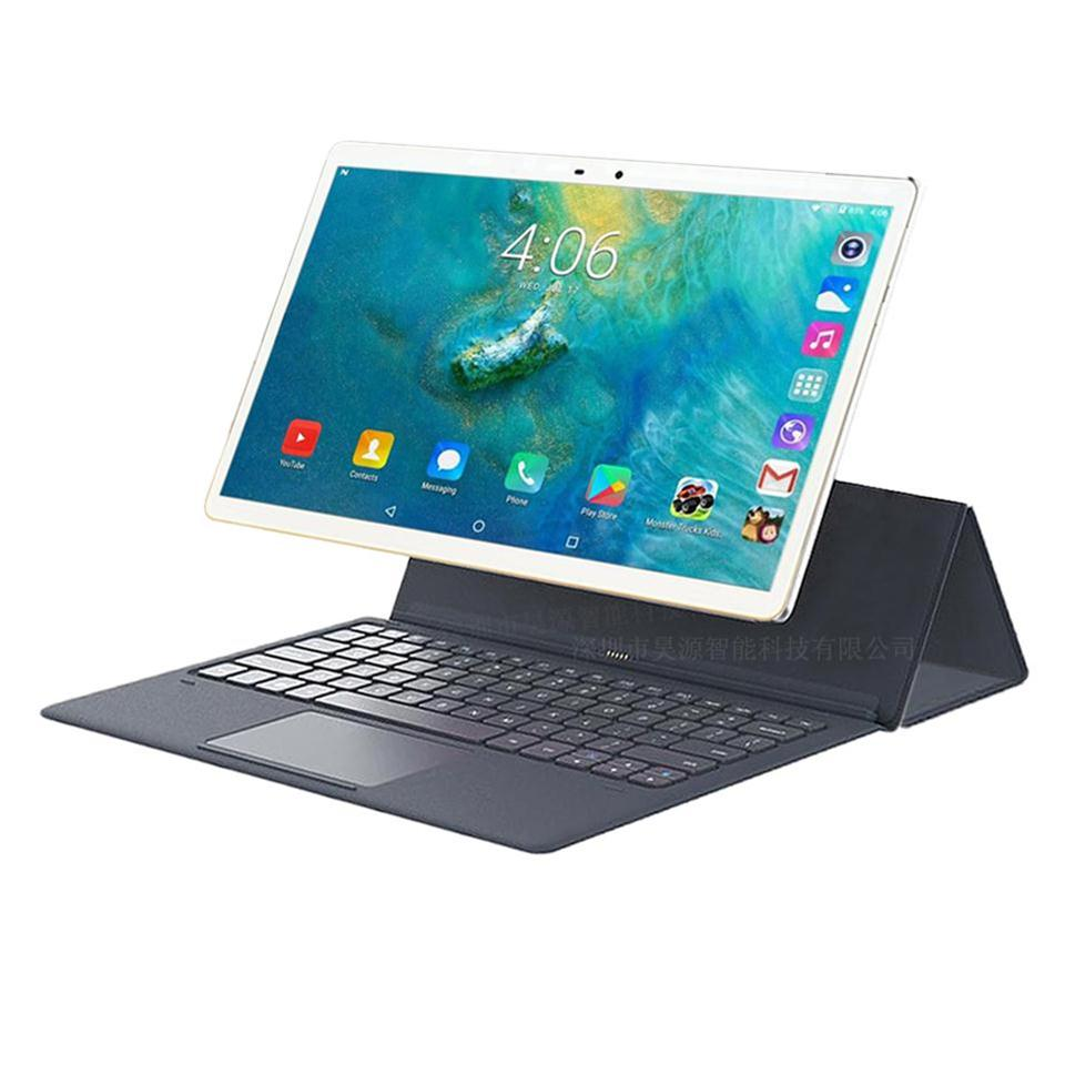 MTK6797 Android 8.0 Drawing Tablet PC 11.6 Inch 1920x1080 Display 4GB RAM 64GB ROM 2 In 1 Tablet With Keyboard 4G LTE Dual SIM