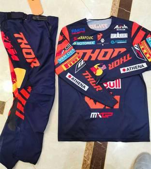 Nuevo 2020, fábrica de equipo de carreras, Jersey y pantalones para motocicleta, conjunto de equipo de Motocross ATV BMX para Moto, Conjunto de Jersey MX