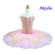 Adult Pink Peach Nutcracker Ballet Tutus Platter Tutu Girls For Competition,Aqua pink Fairy Classical Dresses