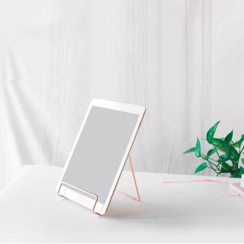 Kreatywny geometryczny stojak do przechowywania prosty kutego żelaza organizator uchwyt stojak na książki tanie i dobre opinie Book Stand Holder iron Bookends