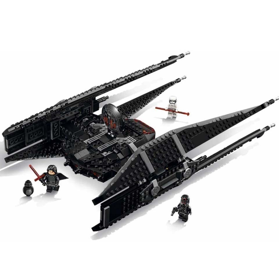 Star Wars Toys The Tie Model Batman Fighter Sets Compatible Legoinglys 75179 Building Blocks Brick Boys StarWars
