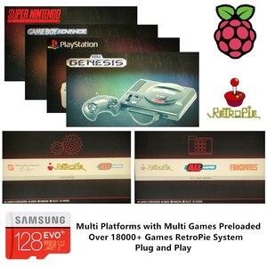Image 2 - RetroPie – carte SD 128 go pour Raspberry Pi 3 B + 18000 + jeux, 30 + systèmes, Diyable, Station démulation, jeux préinstallés, Plug & Play