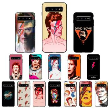 FHNBLJ David Bowie Custom Soft Phone Case for Samsung Galaxy S6 S6edge Plus S7 S7edge S8 S9 S10 Plus S20 image