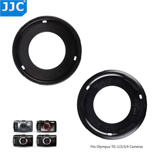 Image 2 - JJC Lens Adapter Ring Tube for Olympus Tough TG6 TG5 TG4 TG3 TG2 TG1 Camera FCON T01 TCON T01 as CLA T01 40.5mm Filter Thread