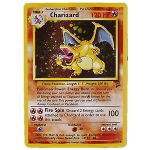 Hot Sale TOMY 5pcs/set Pokemon Charizard Blastoise Venusaur Mewtwo Mew MEGA Flash Cards Pokemons Game Collection Trading Card