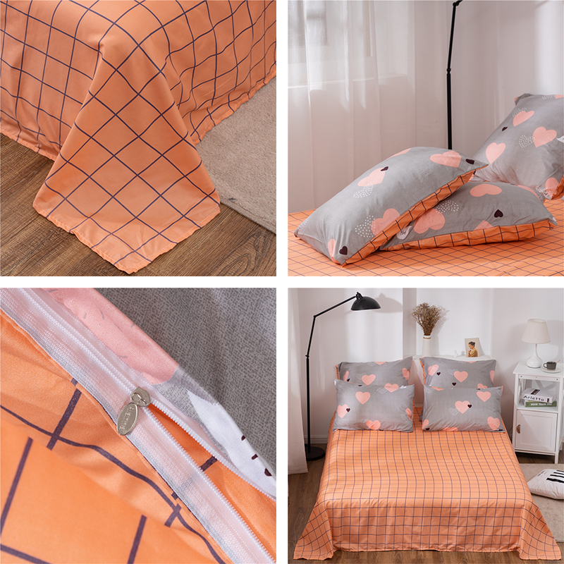 Alanna X-ALL Printed Solid bedding sets Home Bedding Set 4-7pcs High Quality Lovely Pattern with Star tree flower 3