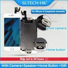 Tela de reposição em LCD para iPhone, para modelos 5 5C 5S SE 6S 7 8 Plus, conjunto completa com 3D Force Touch, altíssima qualidade