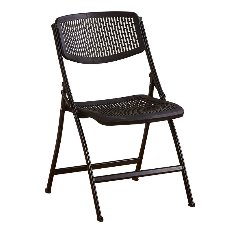 Folding Chair Stool Back Plastic Portable Simple Modern Creative Training Office Home Outdoor Adult Dining Table
