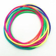 Дети радуга цвет шарить палец нить веревка струна игра развивающая игрушка головоломка обучающая игра для детей Дети