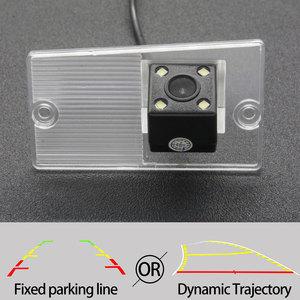 Câmera de visão traseira da trajetória fixa ou dinâmica para kia sorento 2003-2011 naza sorento 2003-2008 acessórios de estacionamento reverso do carro